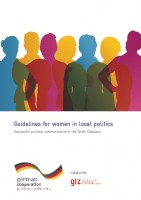 Icon of Guidelines for women in local politics 2015