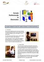 Icon of 03 Ghana: Female Professionals in Electronics – Boosting the number of women in technical professions_Gender Competition 2016