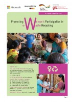 Icon of 06 India: Promoting Women's Participation in e-waste recycling_Gender Competition 2016