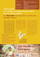 Icon of 17 India: SHG Member as Bank Agents Rural Financial Institutions Programme_Gender Competition 2016