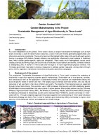"""Icon of 20 Timor Leste: Gender-Mainstreaming in the Project  """"Sustainable Management of Agro-Biodiversity in Timor-Leste""""_Gender Competition 2016"""