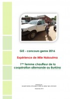 Icon of Gender Competition 2016  Burkina Faso