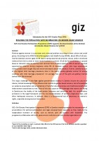 Icon of Zambia Reaching the population with information on gender-based violence _Gender Contest Contribution 2016