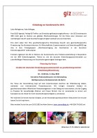 Icon of GIZ Gender Week Germany 2015 Invitation To The Event Financing The Future