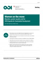 Icon of Briefing OID Women On The Move - Migration, Gender Equality And The 2030 Agenda
