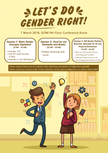 Poster of Gender Activity