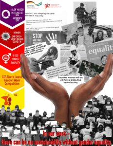 Gender Week Collage 2021
